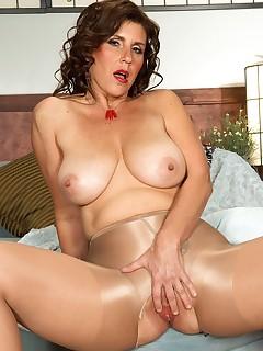 Pantyhose Tits