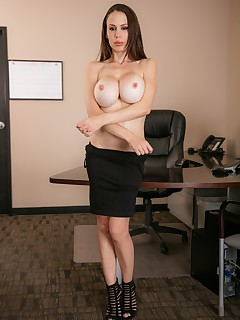 Big Tits Secretary