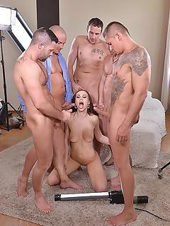 Gangbang Big Tits